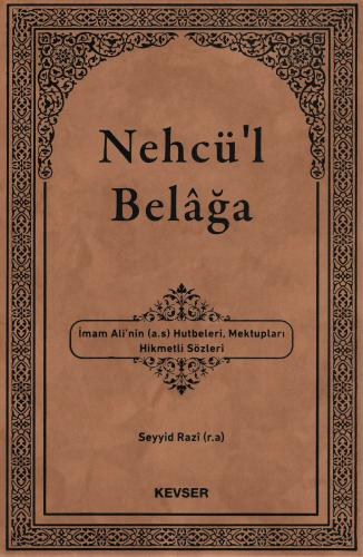 Nehcü'l Belâga %25 indirimli Seyyid Razi (r.a)