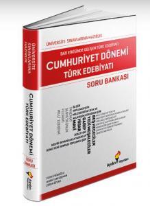 Aydın Üniversiteye Hazırlık Cumhuriyet Edebiyatı Soru Bankası-YENİ