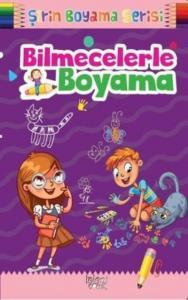 Bilmecelerle Boyama-Şirin Boyama Serisi