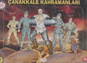 Çanakkale Kahramanları 24 Parça Puzzle (Ajans 2023)