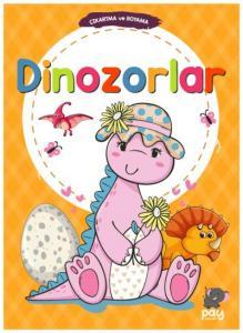 Çıkartma ve Boyama-Dinozorlar-KAMPANYALI