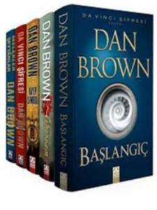 Dan Brown Seti Robert Langdon Serisi 5 Kitap Takım