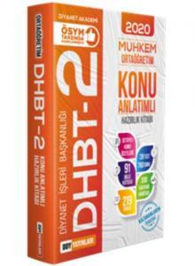 DDY DHBT 2 Muhkem Serisi Ortaöğretim Konu Anlatımlı Hazırlık Kitabı-YENİ