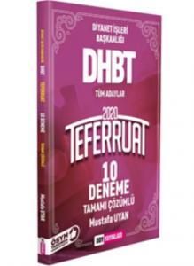 DDY DHBT Teferruat Serisi Tamamı Çözümlü 10 Deneme-YENİ