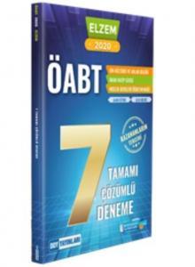 DDY ÖABT Din Kültürü ve Ahlak Bilgisi ELZEM SERİSİ Tamamı Çözümlü 7 Deneme-YENİ