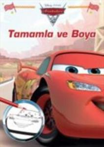 Disney Arabalar Tamamla ve Boya