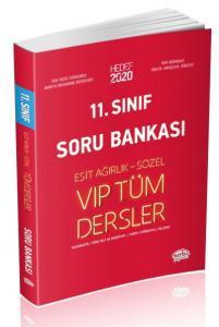 Editör 11. Sınıf VİP Tüm Dersler Eşit Ağırlık-Sözel Soru Bankası Kırmızı Kitap-YENİ
