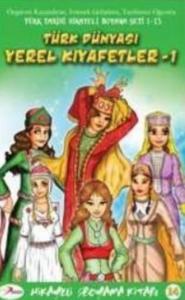 Hikayeli Boyama Kitabı 1-Türk Dünyası Yerel Kıyafetler