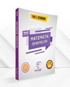 Karekök YKS TYT Matematik Denemeleri 1. Oturum 15 Çözümlü Deneme-YENİ