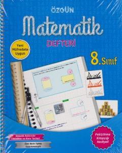 Özgün 8. Sınıf Matematik Defteri