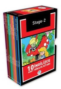 Stage-2 İngilizce Hikaye Seti 10 Kitap
