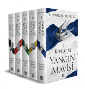 Yangın Mavisi Set 5 Kitap