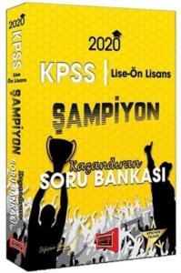 Yargı KPSS Lise Ön Lisans GY GK Şampiyon Kazandıran Soru Bankası 2020-YENİ