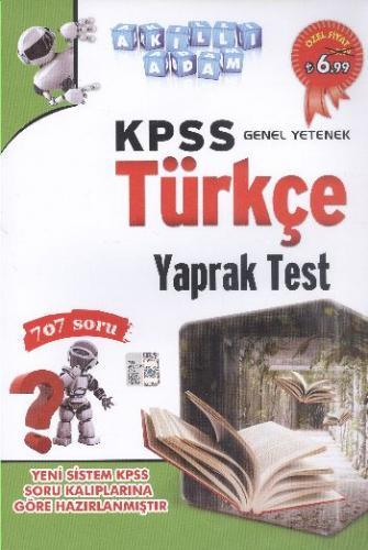 Akıllı Adam KPSS Genel Yetenek Türkçe Yaprak Test