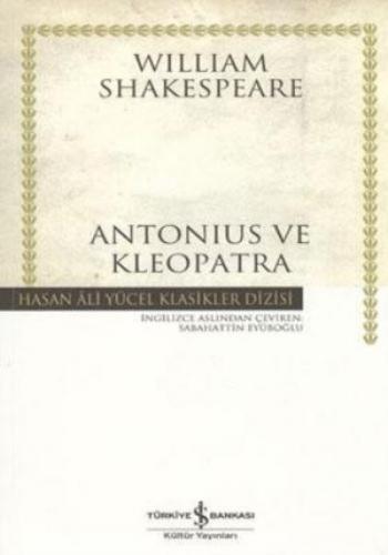 Antonius ve Kleopatra K.Kapak