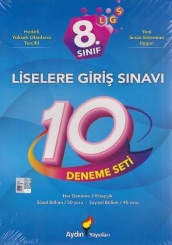 Aydın 8. Sınıf LGS 10 Deneme Seti-YENİ