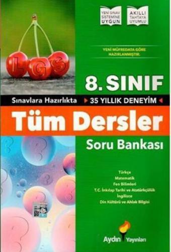 Aydın 8. Sınıf Tüm Dersler Soru Bankası-YENİ
