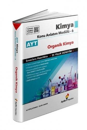 Aydın AYT Kimya Konu Anlatım Modülü 6 (Organik Kimya) 2020-YENİ