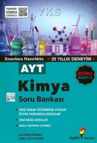Aydın AYT Kimya Konu Özetli Tamamı Video Çözümlü Soru Bankası-YENİ