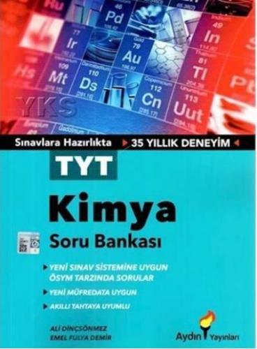 Aydın YKS TYT Kimya Soru Bankası-YENİ
