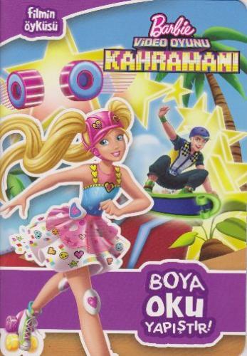 Barbie Video Oyunu Kahramanı Boya Oku Yapıştır