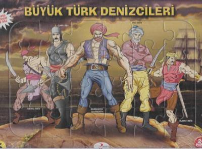 Büyük Türk Denizcileri 24 Parça Puzzle (Ajans 2023)