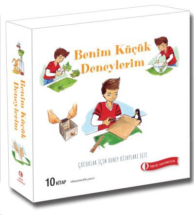 Çocuklar İçin Deney Kitapları Seti 10 Kitap