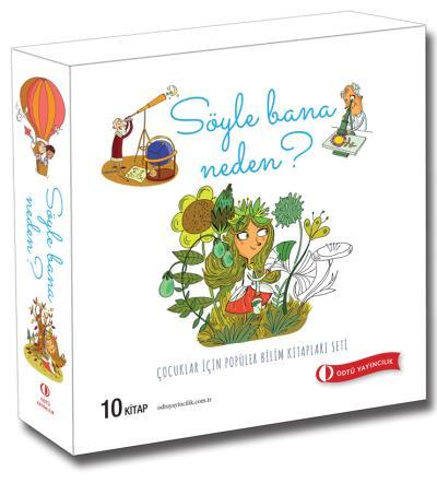 Çocuklar İçin Popüler Bilim Kitapları Seti 10 Kitap