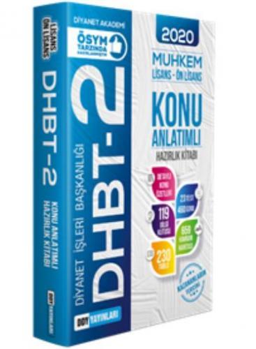 DDY DHBT 2 Muhkem Serisi Lisans-Önlisans Konu Anlatımlı Hazırlık Kitabı-YENİ