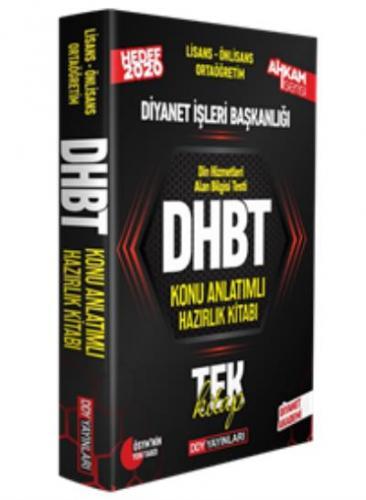 DDY DHBT Ahkam Serisi Tüm Adaylar Konu Anlatımlı Hazırlık Kitabı-YENİ