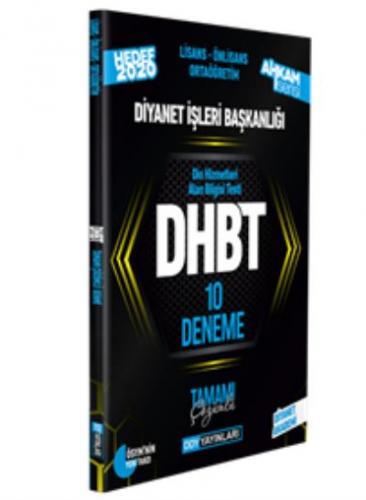 DDY DHBT Ahkam Serisi Tüm Adaylar Tamamı Çözümlü 10 Deneme-YENİ