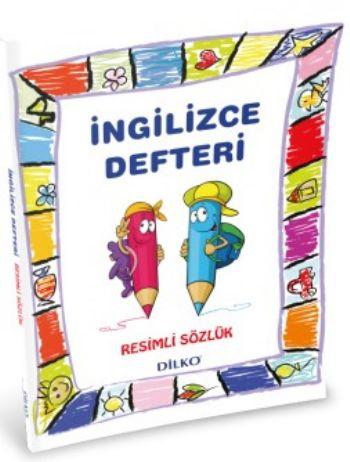 Dilko İlkokul 1-2-3-4. Sınıf İngilizce Sözlüklü Defter