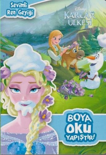 Disney Karlar Ülkesi Boya Oku Yapıştır Sevimli Ren Geyiği