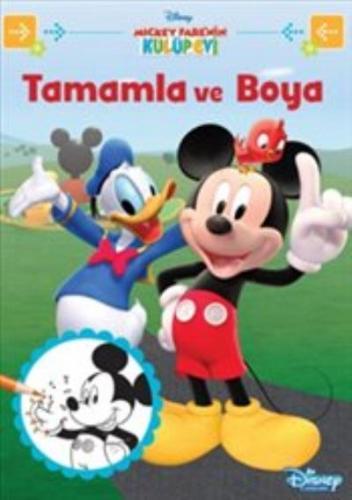 Disney Mickey Farenin Kulüp Evi Tamamla ve Boya