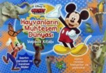 Disney Mıckey ve Arkadaşları Hayvanların Muhteşem Dünyası Yapboz Kitabı