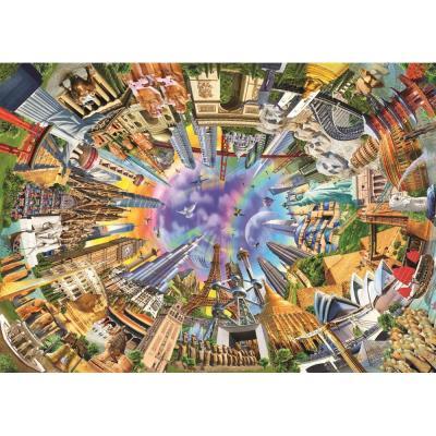 Dünya Anıtları (Puzzle 3000) 4916