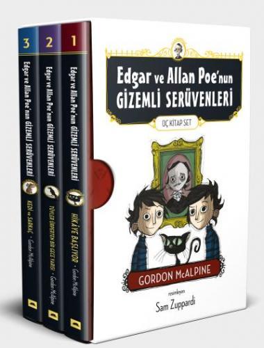 Edgar ve Allan Poenun Gizemli Serüvenleri 3 Kitap Set