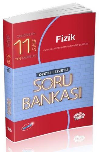 Editör 11. Sınıf Fizik Özetli Lezzetli Soru Bankası 2020-YENİ