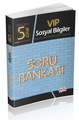 Editör 5. Sınıf VİP Sosyal Bilgiler Soru Bankası-YENİ