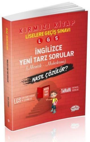 Editör LGS İngilizce Mantık Muhakeme Soruları Nasıl Çözülür-Kırmızı Kitap-YENİ