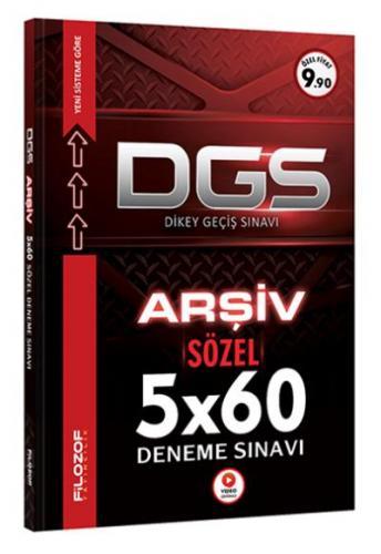 Filozof DGS Arşiv Sözel 5x60 Tamamı Video Çözümlü Deneme Sınavı-YENİ