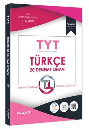 Filozof TYT Türkçe 20 Deneme Sınavı-YENİ