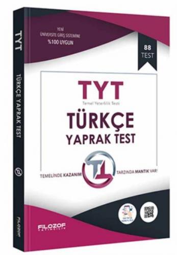 Filozof TYT Türkçe Yaprak Test-YENİ