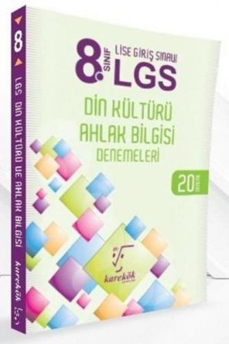 Karekök 8. Sınıf LGS Din Kültürü ve Atatürkçülük Denemeleri-20 Deneme-YENİ