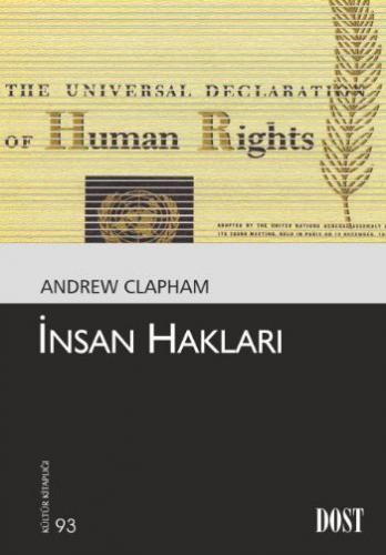 Kültür Kitaplığı 093 İnsan Hakları