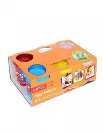 Lets 6 Renk Oyun Hamuru 900 gr L8350