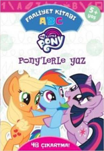 MLP Ponylerle Yaz ABC Faaliyet Kitabı