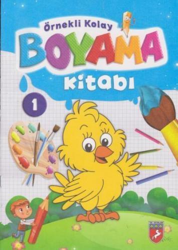 Örnekli Kolay Boyama Kitabı 10 Kitap Takım