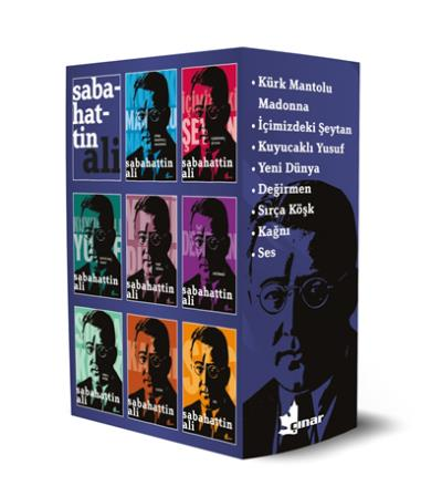 Sabahattin Ali Seti-8 Kitap