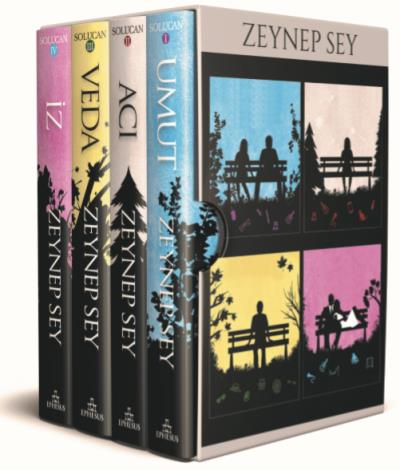 Solucan Serisi Kutulu Set 4 Kitap-Ciltli